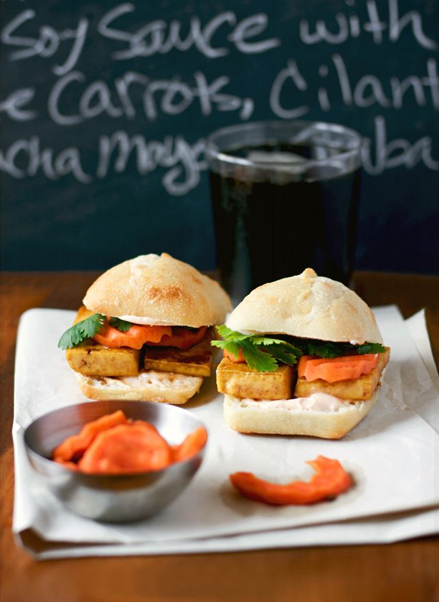 Kitchen La Bohème: Asian-inspired Pan-fried Tofu Sandwiches