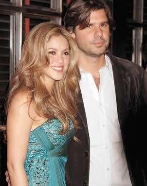 Shakira y Antonio de la Rua