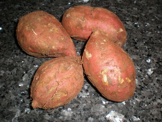 Batatas rojas