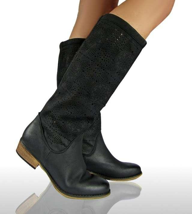 luxus neu flach damen stiefel stiefelette schuhe boots. Black Bedroom Furniture Sets. Home Design Ideas