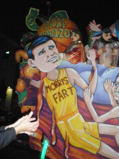 Morris Bart Mardi Gras new Orleans 2011