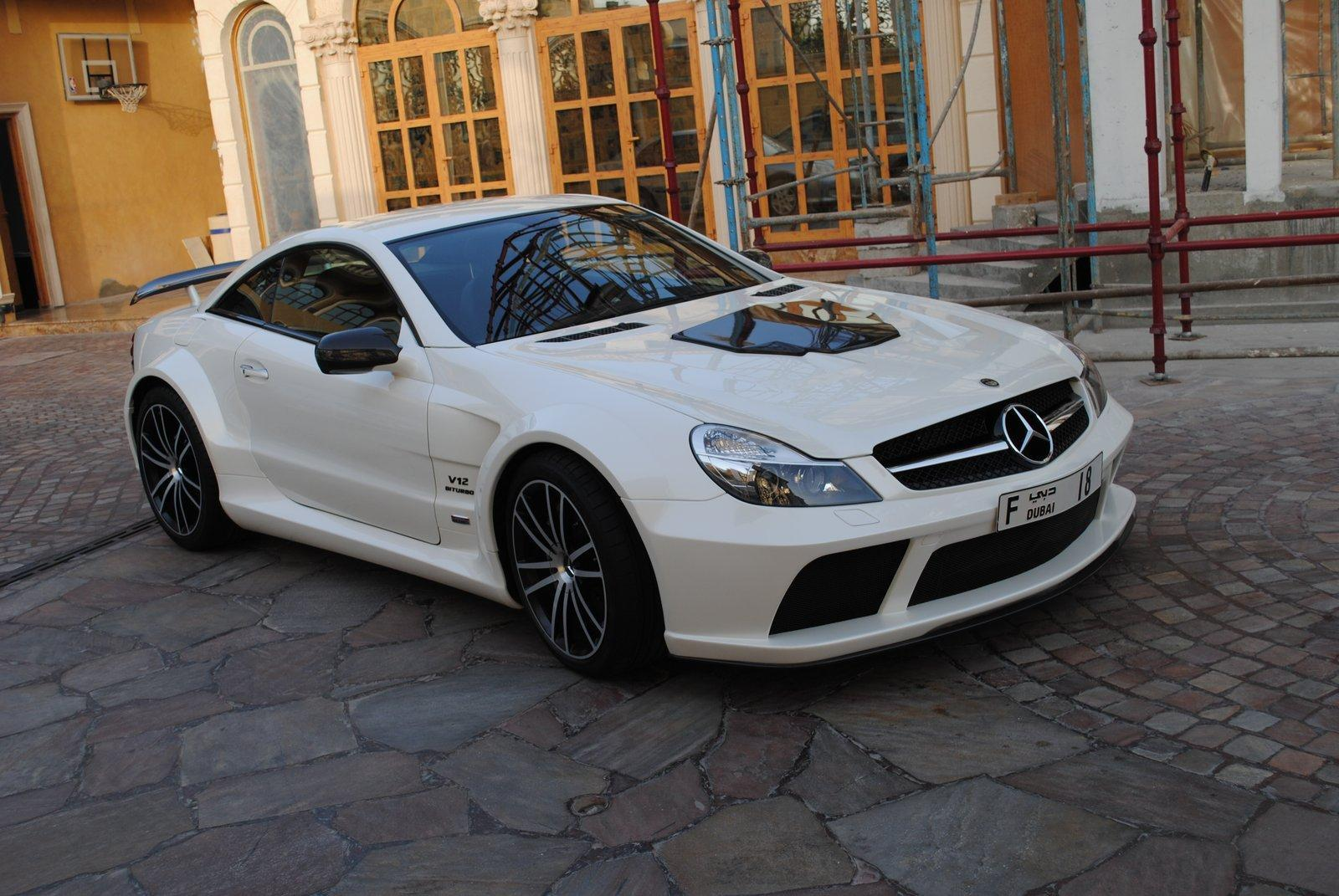 Mercedes benz sl 65 amg black series brabus stealth t65 rs used daewoo cars