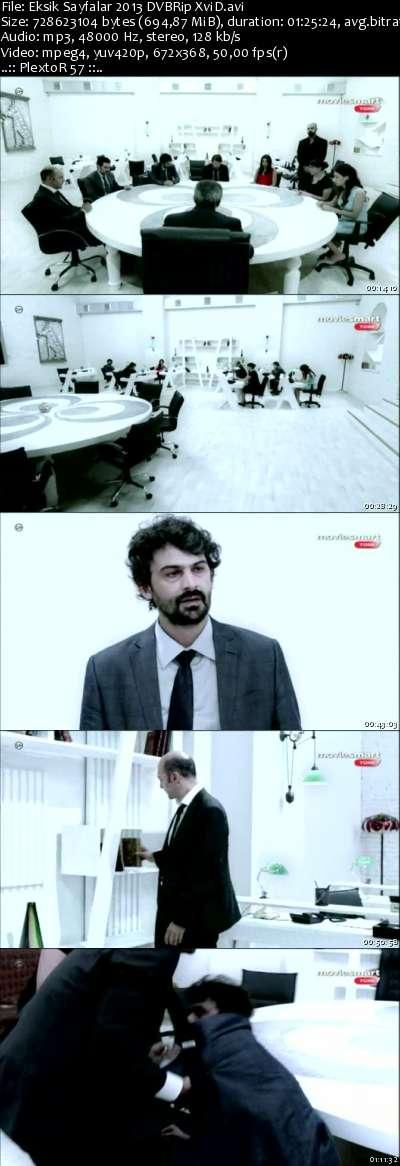Eksik Sayfalar - 2013 DVBRip XviD - Türk Filmi
