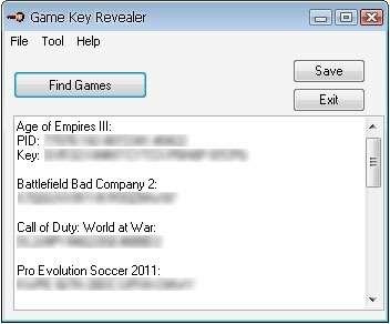 gamekeyrevealer