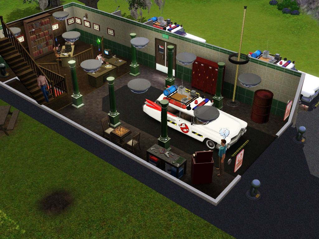The Sims 3: Ambitions - Ghostbusters mods - Ghostbusters Fans